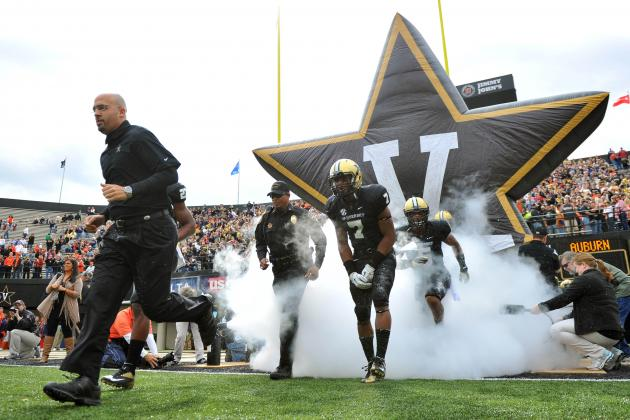 Why Vanderbilt Has the Easiest 2014 SEC Football Schedule