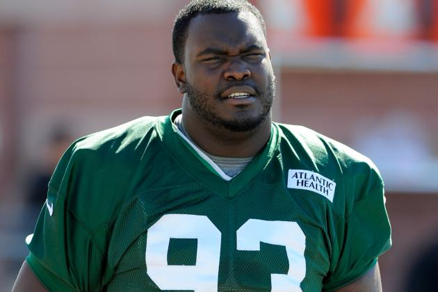 Kenrick Ellis Injured Back Lifting Weights, Says He Likely Won't Face Giants