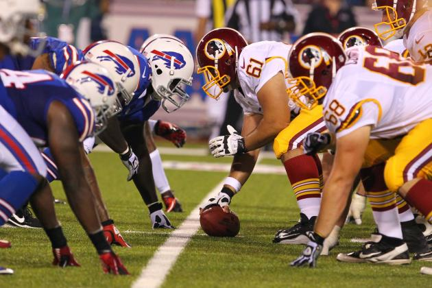 Bills vs. Redskins: TV Info, Spread, Injury Updates, Game Time and More