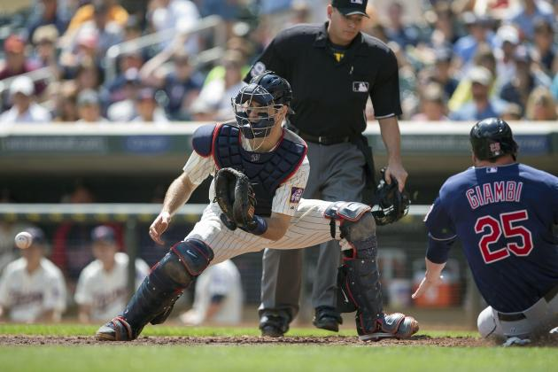 Injury Puts Focus on Mauer's Future as Catcher