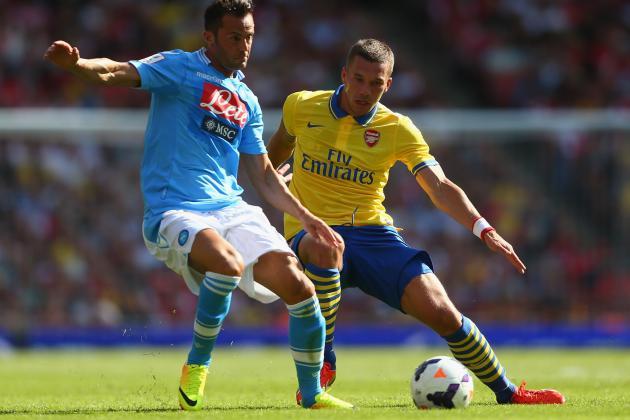 Arsenal Transfer Rumours: Spurs Eye Lukas Podolski, Gunners Chase Karim Benzema
