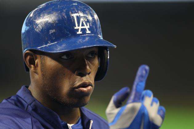 And on Wednesday, Dodgers' Yasiel Puig Could Point to Being on Time