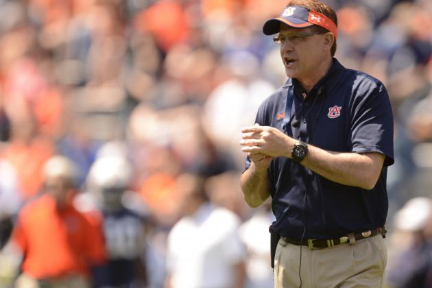 Auburn Football: Inconsistency Will Plague the Tigers in 2013