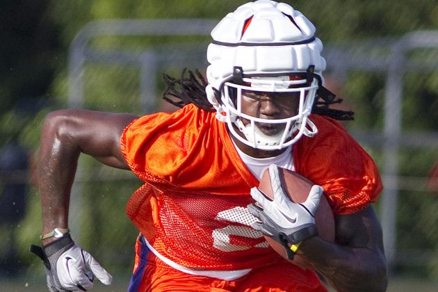Determined, Sammy Watkins Has Been Clemson Camp MVP