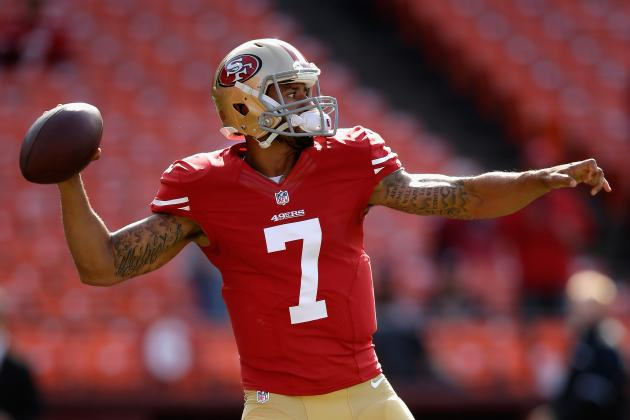 Colin Kaepernick's Receiver Woes Will Adversely Affect Fantasy Value in 2013