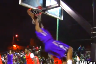 Kevin Durant Throws Down Two Monster Dunks at Goodman League