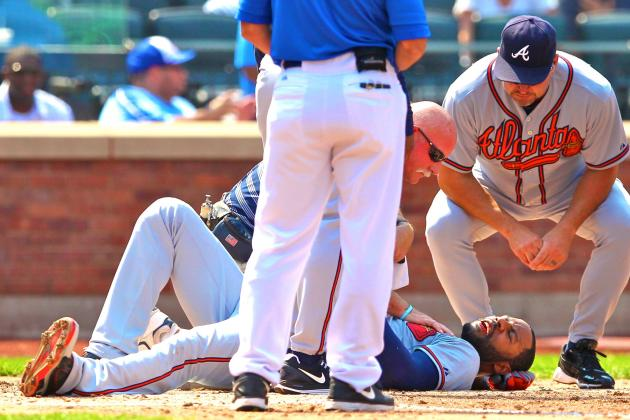 How Jason Heyward's Broken Jaw Impacts the NL Playoff Picture