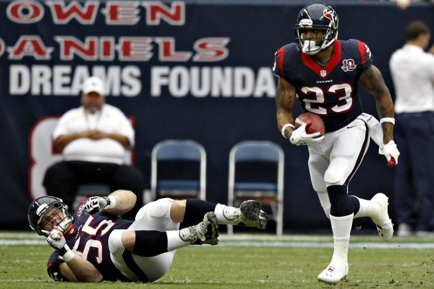 Arian Foster Says He'll Be Ready for Week 1, When Should You Draft Him?