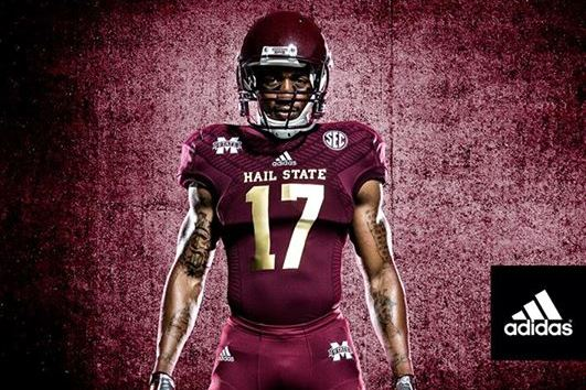 Breaking Down Mississippi State's 2013 Egg Bowl Uniform