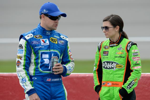 Stenhouse Focused on Improving, Not Winning Rookie Title over Danica