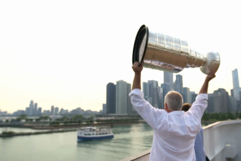 Coach Q Had Quite the Day with the Cup