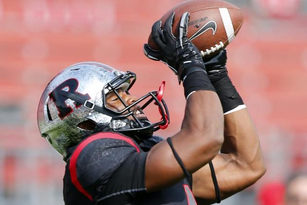 WR Carroo Hitting on All Cylinders for Scarlet Knights