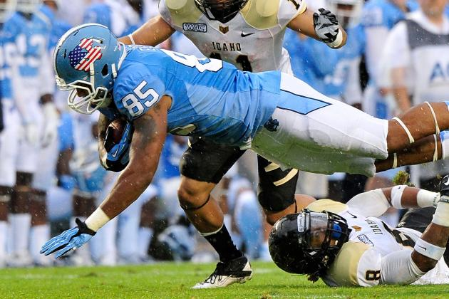 Five Things UNC Must Improve on from 2012
