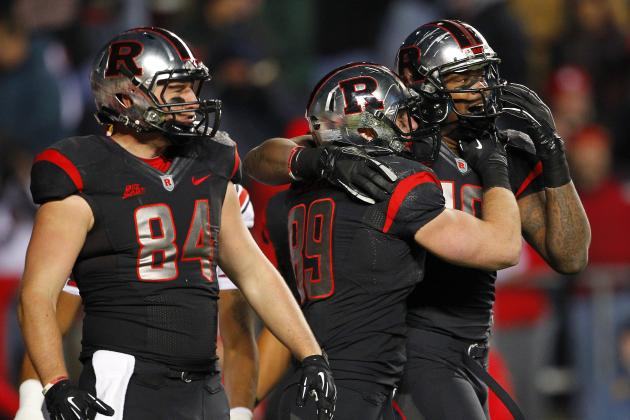 Rutgers' Tight Ends Eager to Enter Receiving Rotation