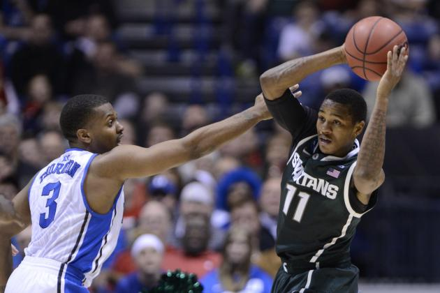 Michigan State Basketball: Is Keith Appling a Championship-Caliber PG?