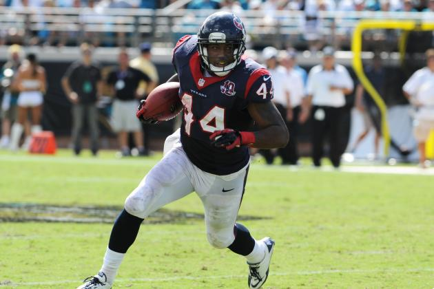 Texans Must Lean on Ben Tate in 2013 to Save Arian Foster for Playoff Run