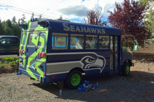 Meet 'Bussell Wilson,' the Amazing Vehicle of a Seattle Seahawks Diehard