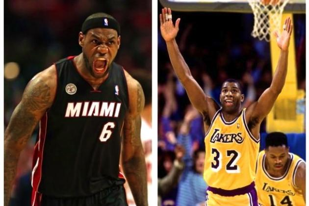Magic Johnson Responds to LeBron James Not Including Him in All-Time Top 3