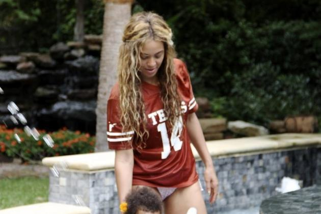 Beyonce Appears to Be a Fan of Texas Longhorns QB David Ash