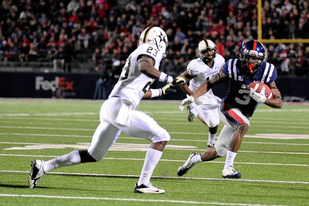 Ole Miss Football: Predictions, News and Notes for Vanderbilt Game