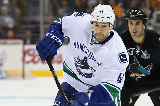 Canucks Stay Busy, Re-Sign Alberts: One Year, $600k