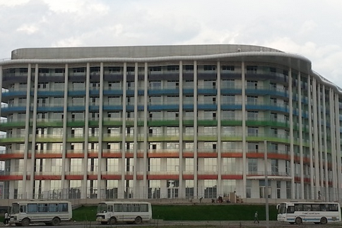 Sochi Has a Rainbow Building Near Olympics Site