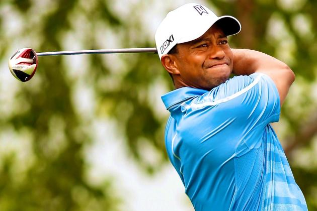 Tiger Woods at the Barclays 2013 Tracker: Day 1 Score, Highlights and Analysis