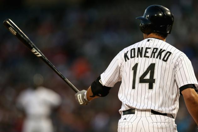 Konerko Scratched Due to Light-Headedness