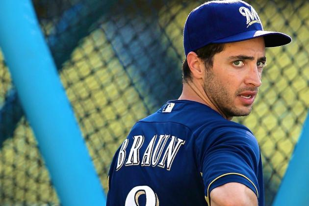Ryan Braun Releases Statement on Suspension, Apologizes for PED Use