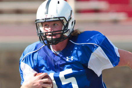 Tech Names Scotty Young the Starting Quarterback