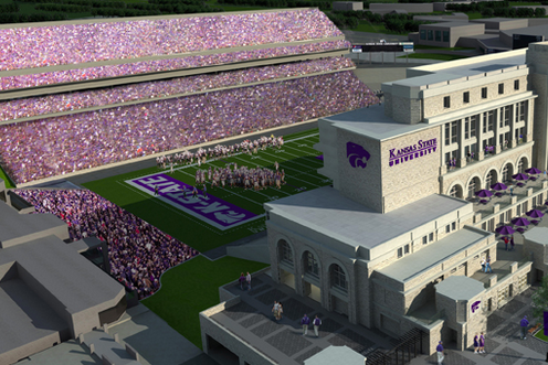 K-State Stadium Expansion Finishes Ahead of Opener