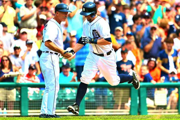 Detroit Tigers' Bryan Holaday Hits 1st-Ever HR After Calling Shot in Dugout