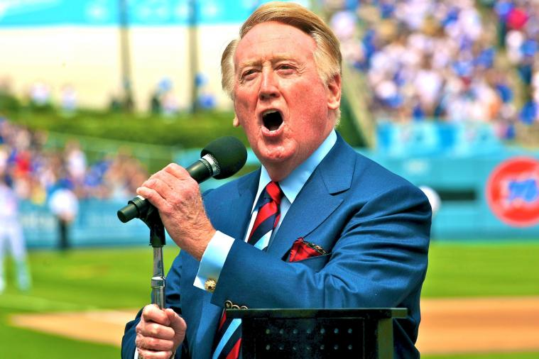 Vin Scully Will Return for 65th Year Calling Dodgers Games in 2014