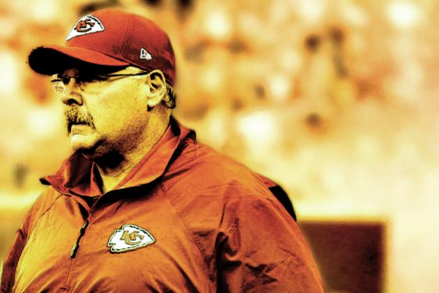 Andy Reid: Chiefs Coach Speaks on Michael Vick Comments, A.J. Jenkins' Progress