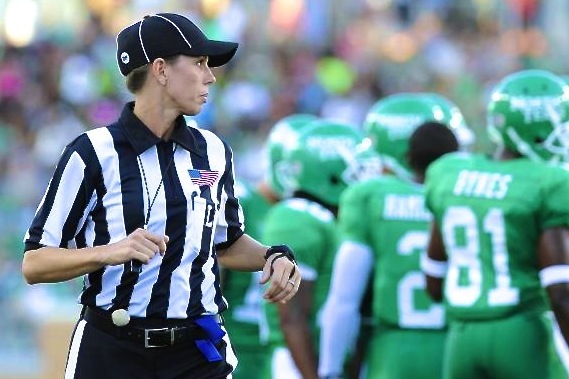 Ref Sarah Thomas Will Break NFL Glass Ceiling, Because She's Too Good Not To