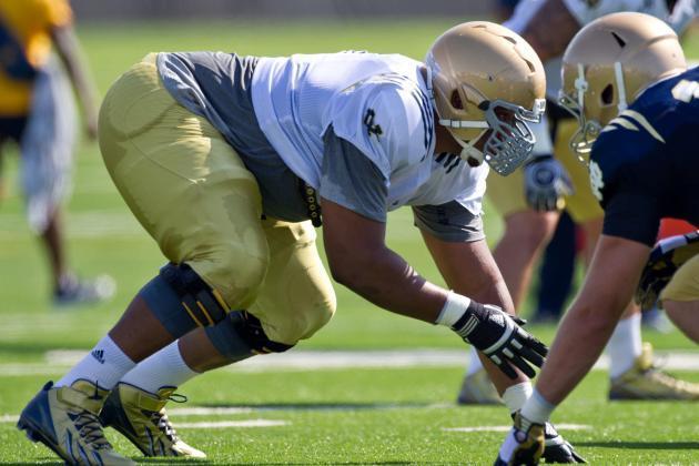 Notre Dame's Tuitt Hobbled, Springmann Done