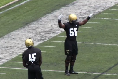 Video: Team Busts out Serious Dance Moves in Practice