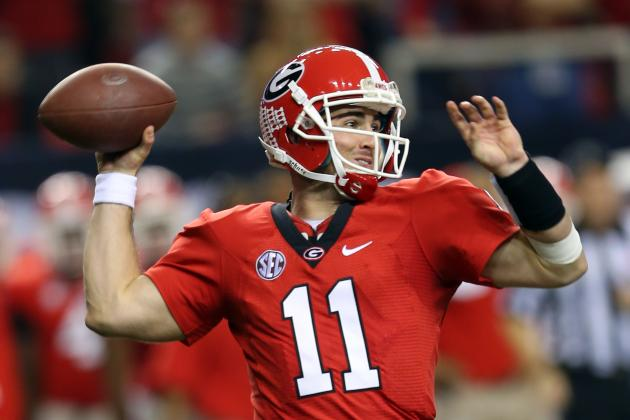 Georgia's Aaron Murray Deserved 1st-Team SEC QB Honors over Johnny Manziel