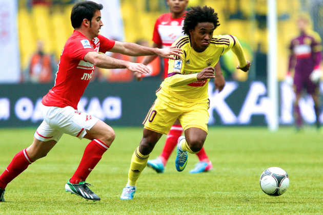 Willian to Chelsea: Blues Agree to Sign Anzhi Midfielder