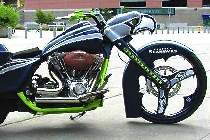 Seahawks Fan's Killer Ride