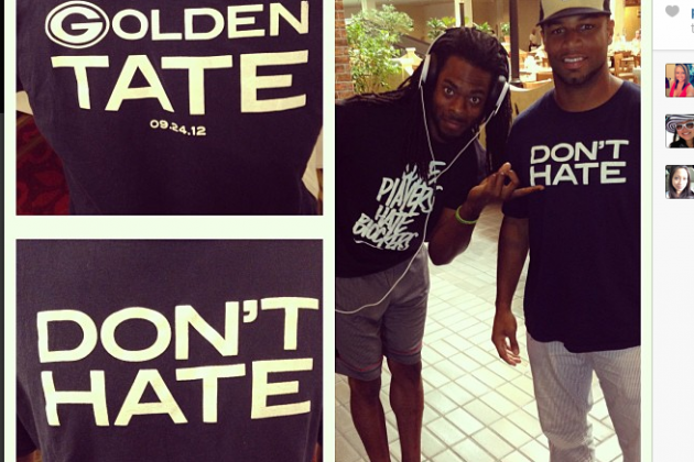Instagram: Golden Tate Has Message for Packers Fans