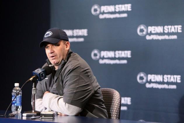 O'Brien Still Mum on the Identity of Penn State's Starting QB