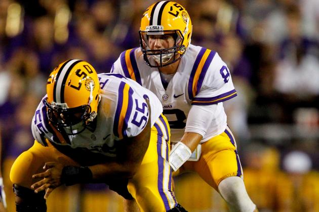 Elliott Porter Prepares to Take over as LSU Center
