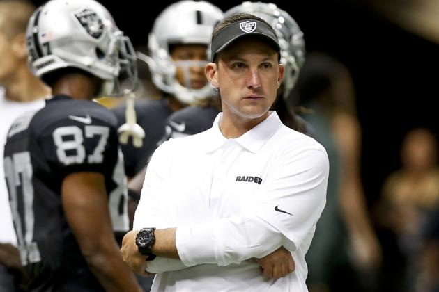 Oakland Raiders' Coach Dennis Allen Seeing Some Improvement