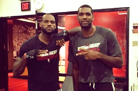 LeBron James and 'Long Lost Brother' Greg Oden Pose for Workout Instagram Pic