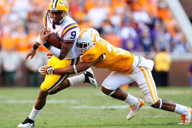 Vols' Randolph Ready to Return from Torn ACL