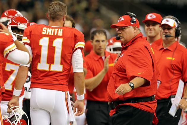 Andy Reid-Alex Smith Union Heads New-Look Kansas City Chiefs