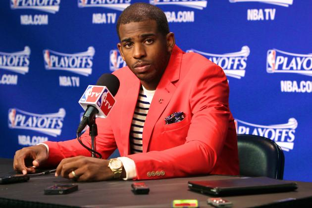 New Players Union Rep Chris Paul Wants to Challenge NBA on HGH, Flopping Fines