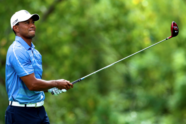 Tiger Woods at Barclays 2013 Tracker: Day 2 Highlights, Updates and Analysis