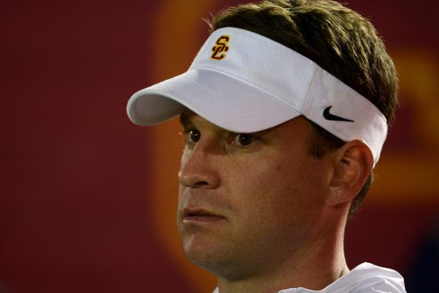Lane Kiffin Delivers Ice Cream to the USC Marching Band